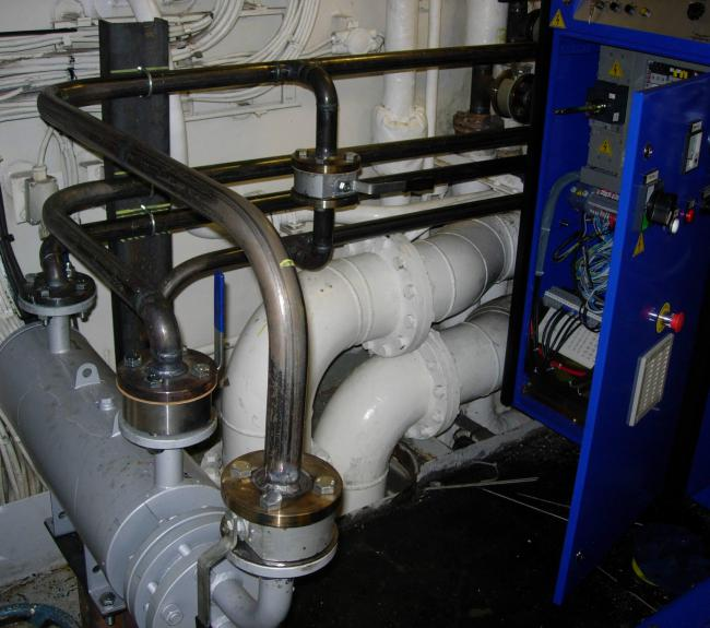 installation purifier alfa laval